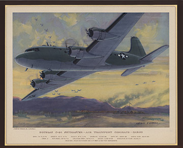 Douglas C54 Skymaster, Charles H. Hubbell