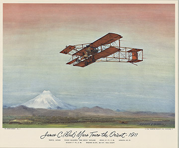 Baldwin Red Devil Biplane, Charles H. Hubbell