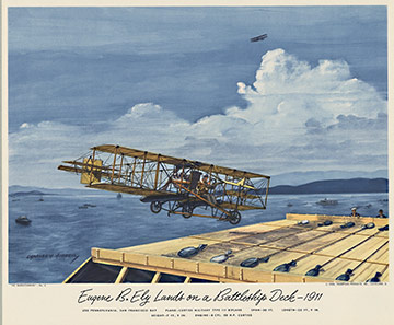 Curtiss Military Type 111 Biplane, Charles H. Hubbell