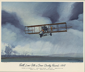 Curtiss Biplane, Charles H. Hubbell