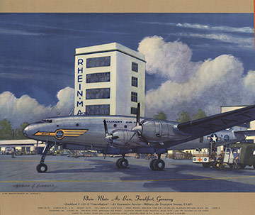 Lockheed C-121-A Constellation, Charles H. Hubbell