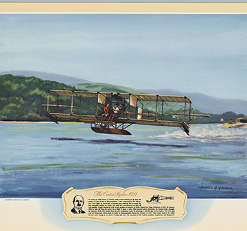 The Curtiss Hydro - 1911, Charles H. Hubbell