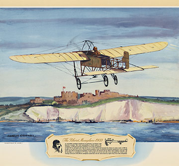 The Bleriot Monoplane - 1909, Charles H. Hubbell