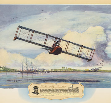 The Benoist Flying Boat - 1914, Charles H. Hubbell