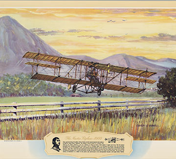 The Martin Biplane - 1909, Charles H. Hubbell