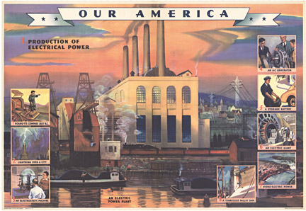 Coca Cola - Our America Electricity # 1 border=