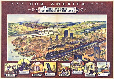 Our America Iron and Steel #2, Coca Cola