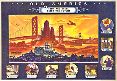 Coca Cola - Our American Steel #4 border=