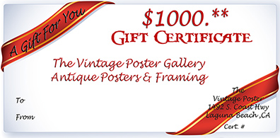 Gift Certificate - GIFT CERTIFICATE $1000 border=