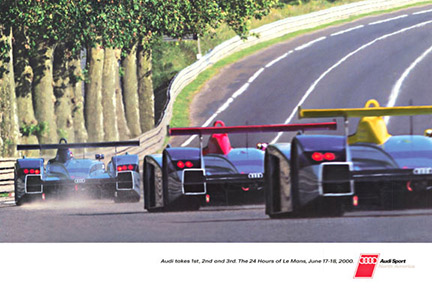 Audi Sport, Audi Talle 1st, 2nd, and 3rd 34 Hours of Leman June 17, 18 2008, Anonymous Artists