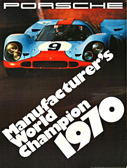 Manufacture's World Championship 1970, Erich Strenger