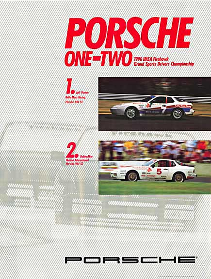 Porsche One-Two 1990 IMSA Championship, Anonymous Artists