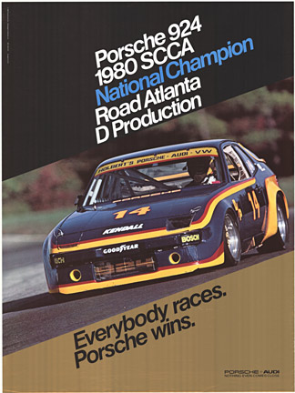 1980 SCCA National Champion Road to Atlanta, Anonymous Artists