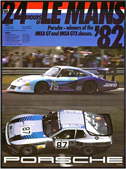 The 24 Hours of Le Mans '82 Porsche, Erich Strenger