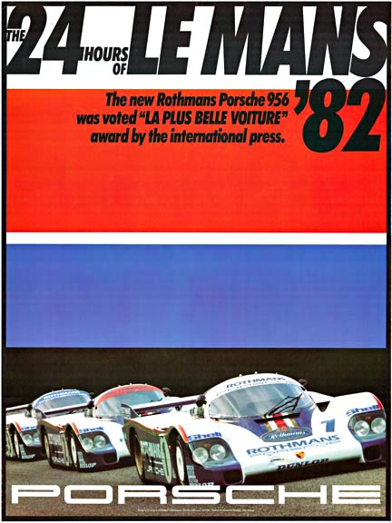 The 24 Hours of Le Mans '82 Porsche 956, Erich Strenger