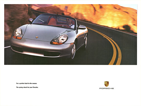 For a perfect start to the Season. The Spring check for your Porsche, Anonymous Artists