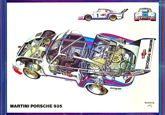 Martini Porsche 935, Anonymous Artists