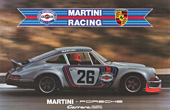 Martini Porsche Carrera RSR, Anonymous Artists