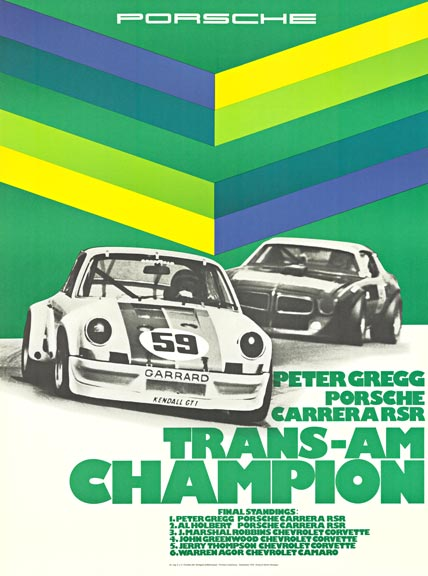 Porsche Trans-Am Champion, Erich Strenger