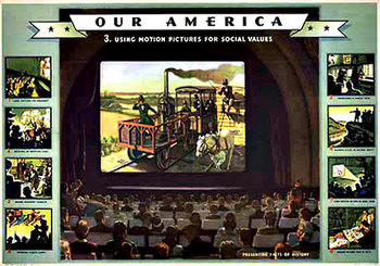 Title: Our America Motion Pictures # 3 , Date: 1943 , Size: 31.75
