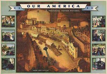 Title: Our America Motion Pictures # 1 , Date: 1943 , Size: 31.75