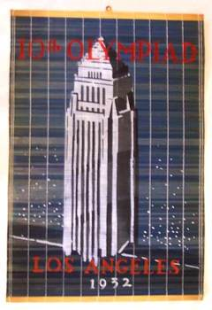 Title: 10th Olympiad- Skyscraper Olympics , Date: 1932 , Size: 21