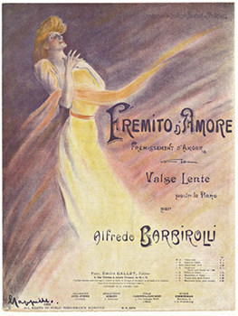 Title: Fremito D' Amore , Date: 1906 , Size: 14