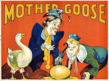 Title: Mother Goose , Date: c. 1930 , Size: 40 x 30