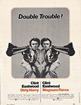 Title: Double Trouble! (Dirty Harry) (Magnum Force) , Date: 1975 , Size: 30 x 40