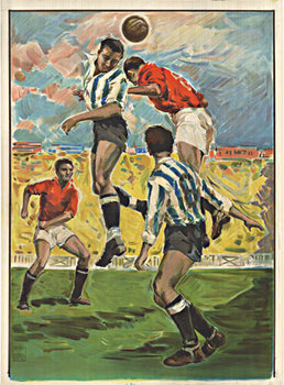 Title: Soccer - , Date: c. 1940 , Size: 32