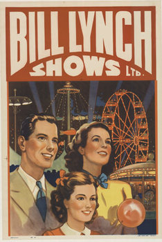Title: Bill Lynch Shows , Date: c. 1940's , Size: 28 x 40 , Medium: Offset-Lithograph , Price: $325