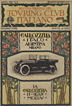 Title: Carrozzeria Italo Argentina , Date: 1919 , Size: 6.5 x 9 , Medium: Lithograph , Price: $99