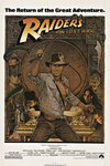 Title: RAIDERS OF THE LOST ARK , Date: 1981 , Size: 27 x 41 inches , Medium: Offset-Lithograph , Price: $675