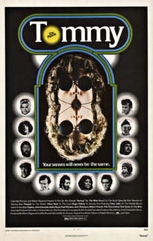 Title: TOMMY 1sh '75 The Who , Date: 1975 , Size: 27 x 41