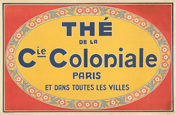 Title: Coloniale The (tea) , Date: ca. 1920 , Size: 51.5 x 34