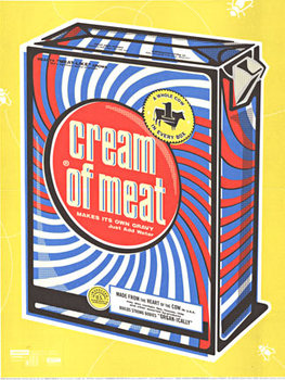 Title: Cream of Meat , Date: 1999 , Size: 19 x 25.5 , Price: $400