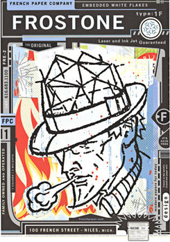 Title: Dick Tracy Frostone , Date: c. 1999 , Size: 18.5 x 25.25 , Medium: Serigraph , Price: $229