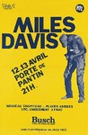 Title: Miles Davis French Concert Poster , Date: 1983 , Size: 30.5 x 45.5 , Medium: Offset-Lithograph , Price: $450