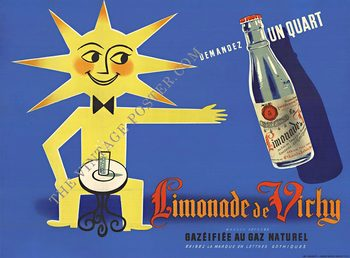Title: Limonade de Vichy , Size: 63 x 47 , Medium: Stone-Lithograph , Price: $1,450