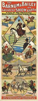 Title: Barnum & Bailey Greatest Shown on Earth , Date: 1900 , Size: 29 x 75.5