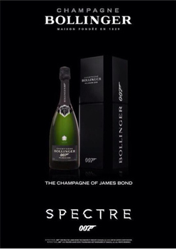 Title: BOLLINGER Champagne Spectre 007 , Date: 2008 , Size: 20