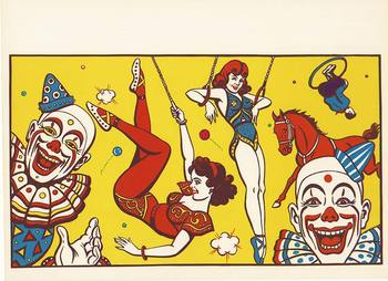 Title: Circus (blank) , Size: 20.5