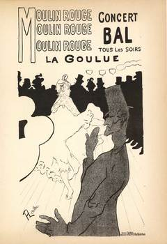 Title: BAL DU MOULIN ROUGE , Date: 1952 PRINTING , Medium: Lithograph , Price: $350