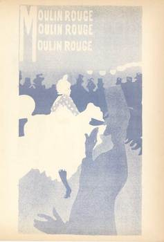 Title: Bal du Moulin Rouge - blue plate , Date: 1951 , Medium: Lithograph , Price: $175