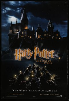 Title: HARRY POTTER & THESORCERE'S STONE teaser , Date: 2001 , Size: 27