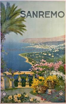 Title: SAN REMO (Italy) , Date: c. 1920 , Size: 24