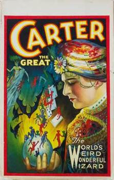 Title: CARTER The World's Weird Wonderful Wizard , Date: 1926 , Size: 14