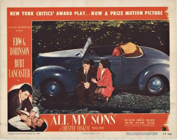 Title: ALL MY SONS - lobby card , Date: 1948 , Size: 14
