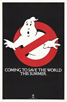 Title: GHOSTBUSTER - TEASER 1 - sheet , Date: 1984 , Size: 27.25