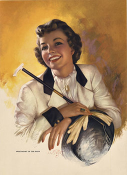 Title: Sweetheart of the Show , Date: c. 1954 , Size: 8